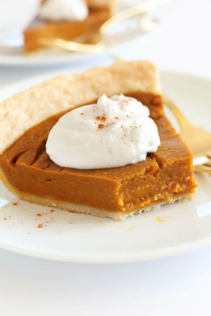 Vegan, Gluten-Free Pumpkin Pie Recipe for an anti-inflammatory Thanksgiving.
