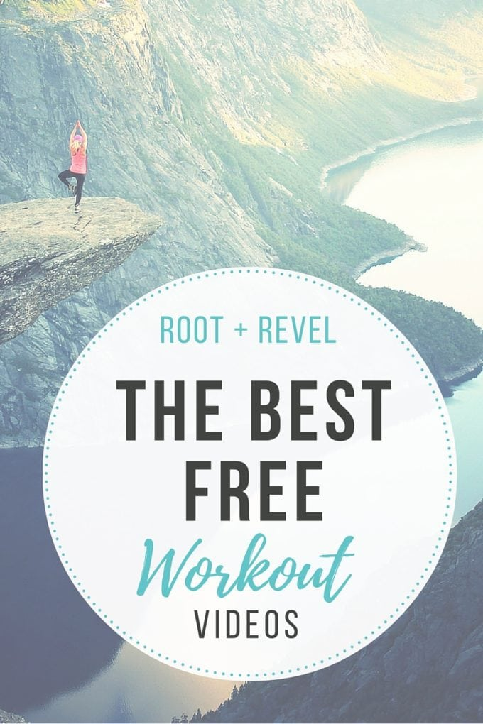 The best free workout videos on Youtube, so you can exercise right in your own living room for no cost! Expect to sweat and get AMAZING results! | rootandrevel.com