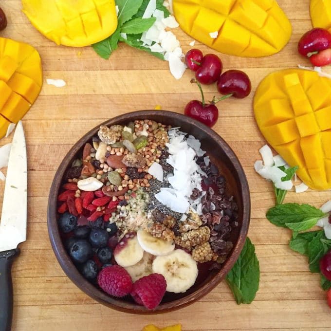 Acai Bowls, one of the Best Things We Ate in May. In this series, we round up the best restaurant meals, blog recipes + at-home cooking adventures from the month.