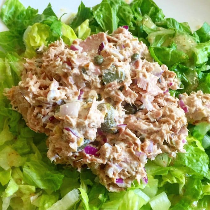 Homemade Tuna Salad   The Best Things We Ate in June. In this series, we round up the best restaurant meals, blog recipes + at-home cooking adventures from the month.