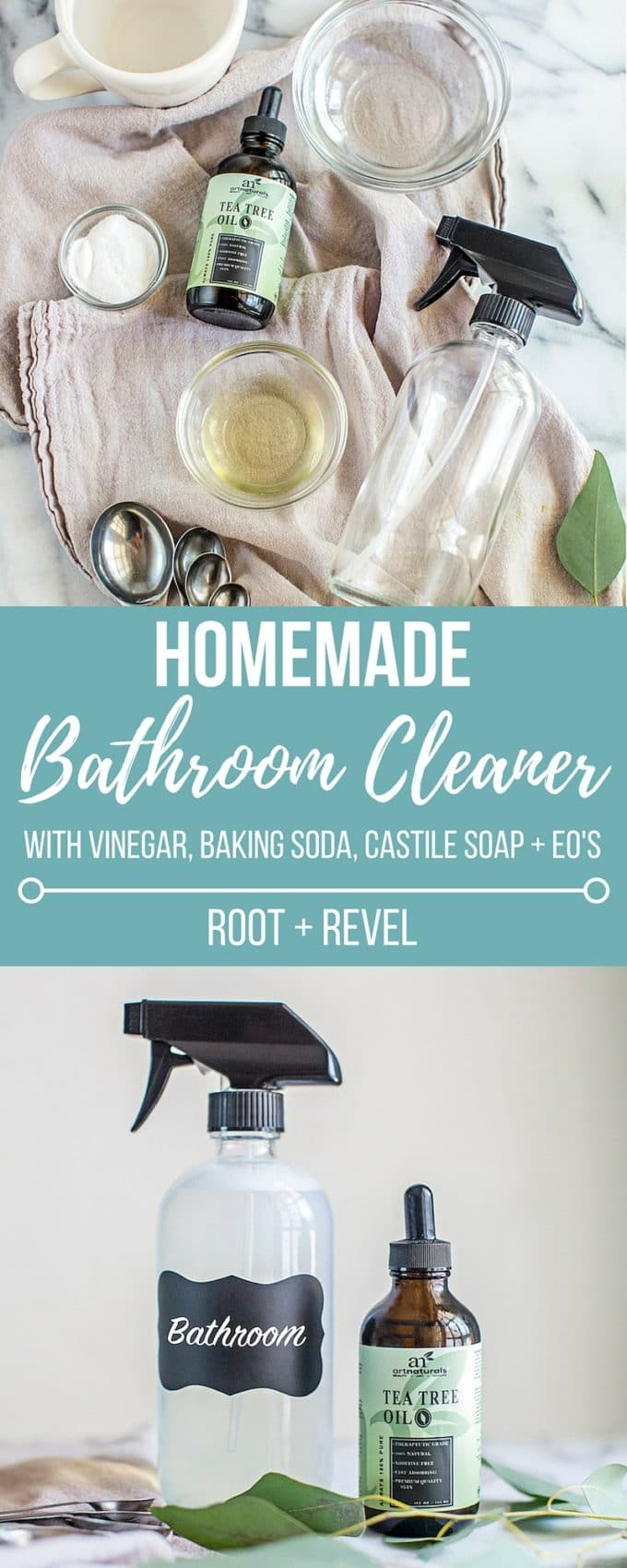 homemade bathroom cleaner root revel