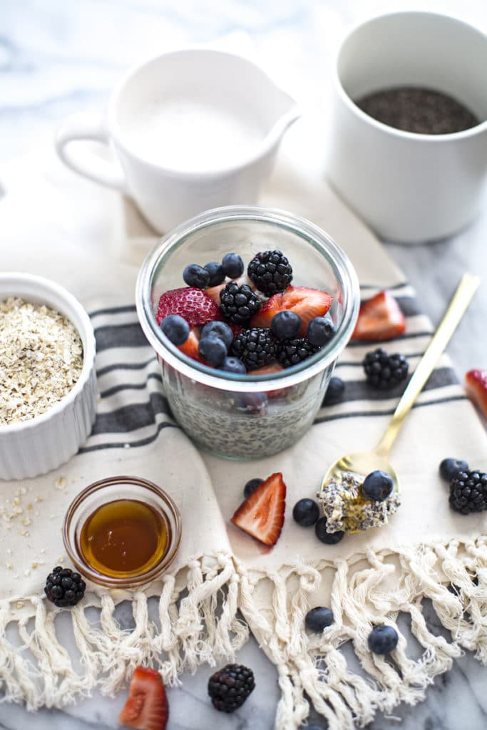 Mother's Day Healthy Breakfast Recipes: Chia Pudding
