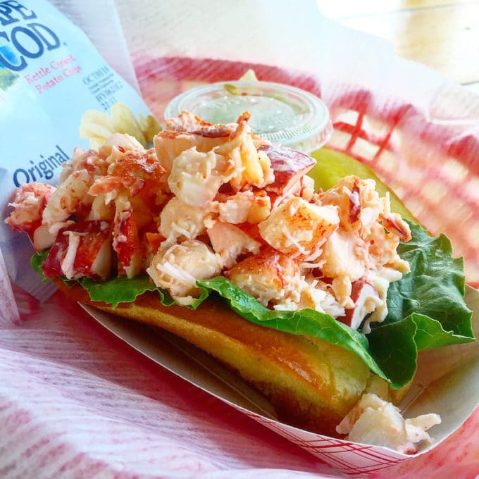 Lobster Roll | The Best Things We Ate in July. In this series, we round up the best restaurant meals, blog recipes + at-home cooking adventures from the month.