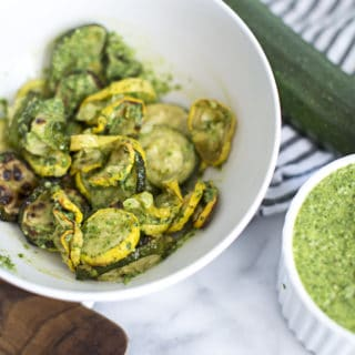 Easy Roasted Vegetables with Pesto