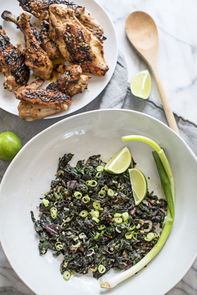 Thai Greens and Chicken | The Best Things We Ate in September. In this series, we round up the best restaurant meals, blog recipes + at-home cooking adventures from the month.