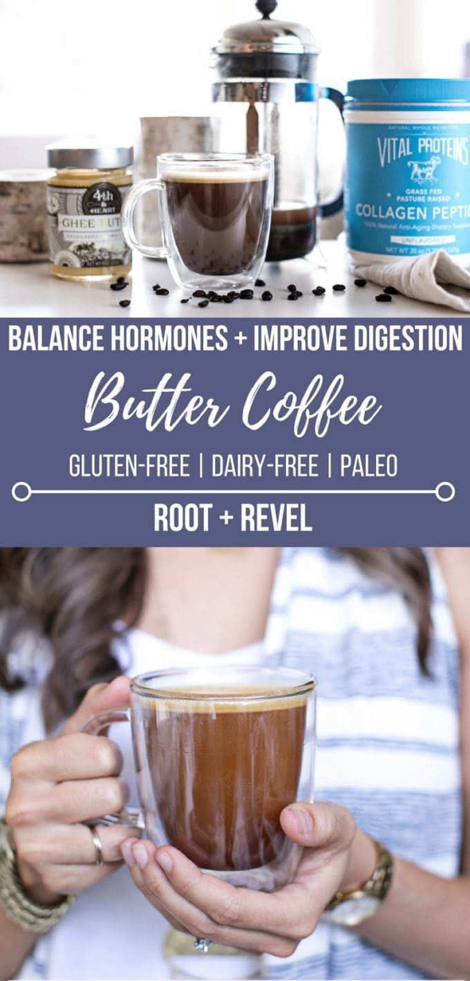 A healthy twist on bulletproof coffee, this butter coffee recipe can be made with grass-fed, unsalted butter or lactose-free ghee (or try coconut oil!). Loaded with health benefits, my butter coffee recipe also makes for the creamiest, dreamiest, most delicious cup of coffee I've ever had. Honestly, it tastes just like a latte, but without any dairy.