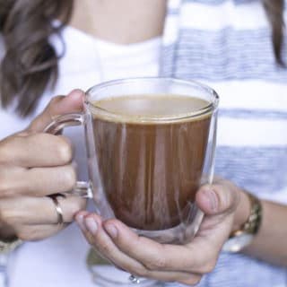 Butter Coffee Recipe: Why I put Ghee + Collagen in my Coffee