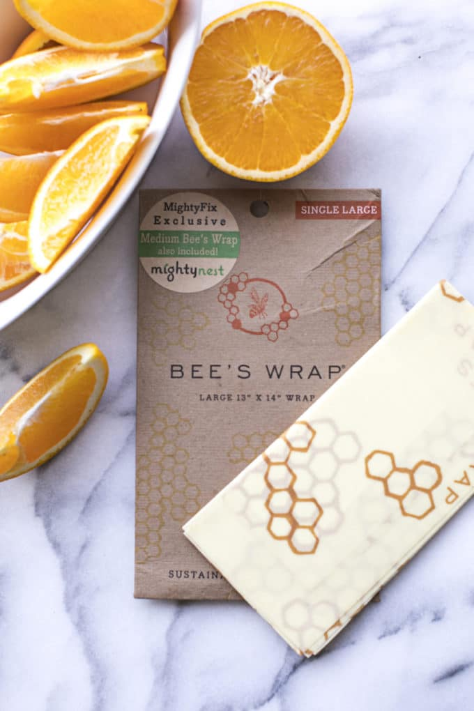 Toss toxic, unsustainable food storage products and reach for an eco-friendly alternative to plastic wrap. Bee's Wrap is a natural, non-plastic substitute that's safe, reusable and affordable! Get yours by signing up for MightyFix from MightyNest. Click for a special discount code that'll give you your first MightyFix for just $3.