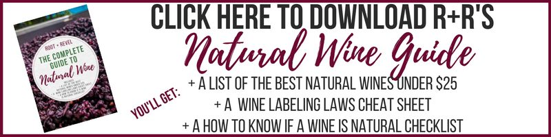 Click here to download R+R's Natural Wine Guide