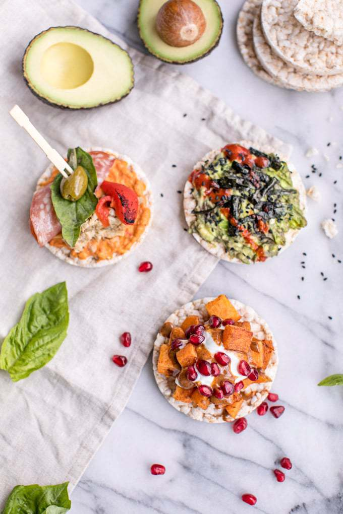 Rice cakes are a healthy, gluten-free option for snacks, breakfast and dessert. Here are three healthy brown rice cakes recipe ideas featuring nutrient-dense toppings and creative combinations that will send your taste buds soaring!