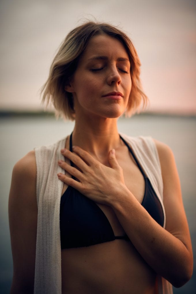 Ways to be healthy: don't stress. meditate