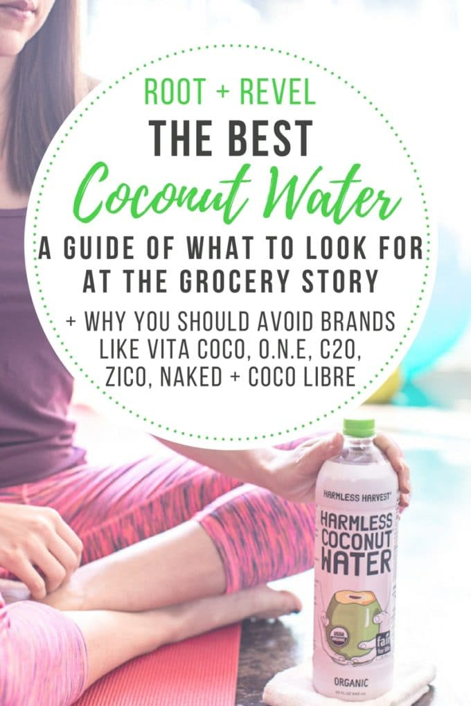 Looking for the best coconut water? Though coconut water has dozens of health benefits, not all coconut water is created equal.
