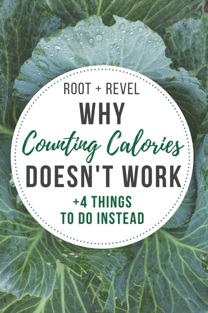 Counting calories doesn't work; it's a waste of time and counting calories can even make you fat. Lose weight + reach optimal health by doing this instead.