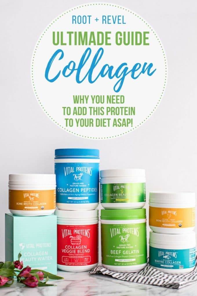 What is collagen? In this ultimate guide, you'll learn all about collagen protein, the best collagen supplements, the health benefits of collagen and how to add more collagen to your diet.