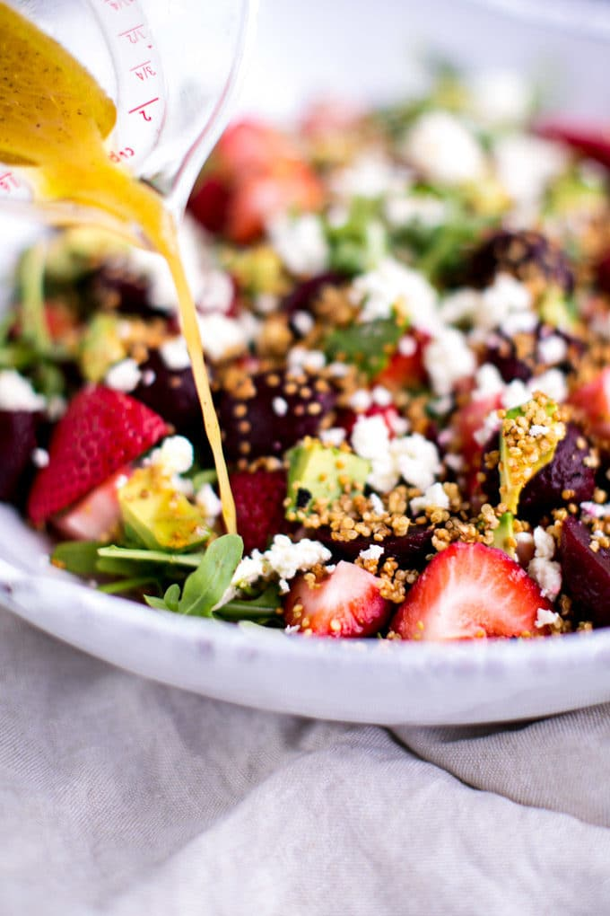 Mother's Day Health Lunch Ideas: Strawberry Quinoa Salad