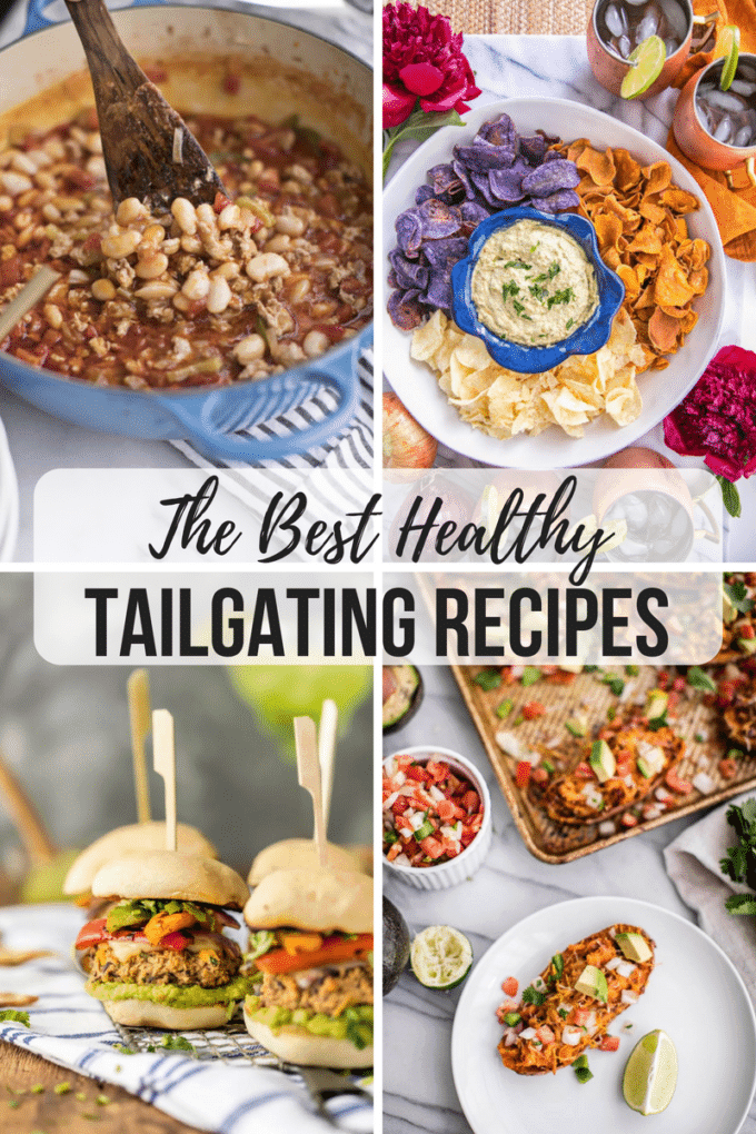 This roundup of the best healthy tailgating recipes proves that you can still enjoy your favorite pastimes, get togethers and sporting events, without sacrifice!