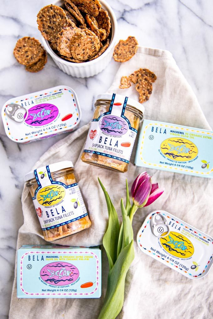 Canned Fish is Delicious, Safe + Healthy! In this guide, you'll learn what to look for, sustainability + the health benefits of canned fish + how to eat it!