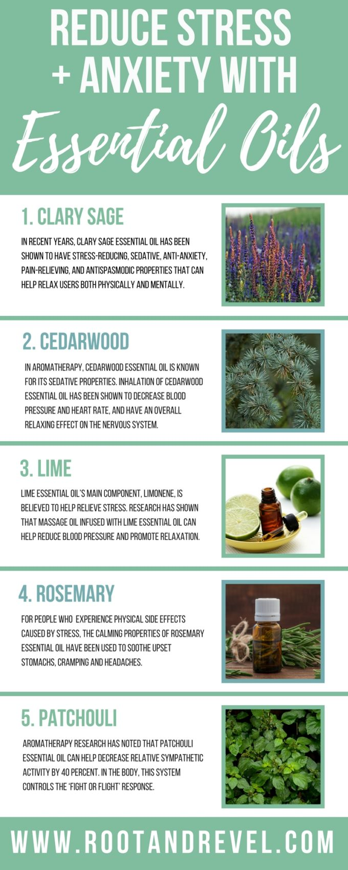 5 surprising essential oils for stress + anxiety | root + revel