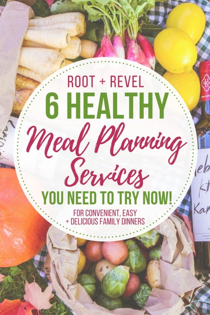Using healthy weekly meal plans is a convenient way to ensure we keep up with our fast-paced lives, without sacrificing our healthy diets. Whether you need a full service meal kit delivery to your front door, or if you simply want inspiration for healthy weekly meal plan ideas, the six resources below will save you time, reduce waste and make dinner easier and more convenient!