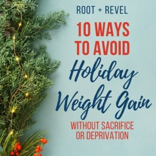 The holiday season is upon us and we all know what that means: treats, indulgences, parties and (let's face it) overeating. In this guide, we're showing youHow to Avoid Holiday Weight Gain Without Missing Out--that's right, you can maintain a healthy lifestyle during the holidays without sacrifice and deprivation. Check out our simple and easy tips here--you might even lose weight this holiday season!