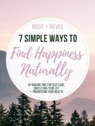7 Simple Ways to Find Happiness Naturally