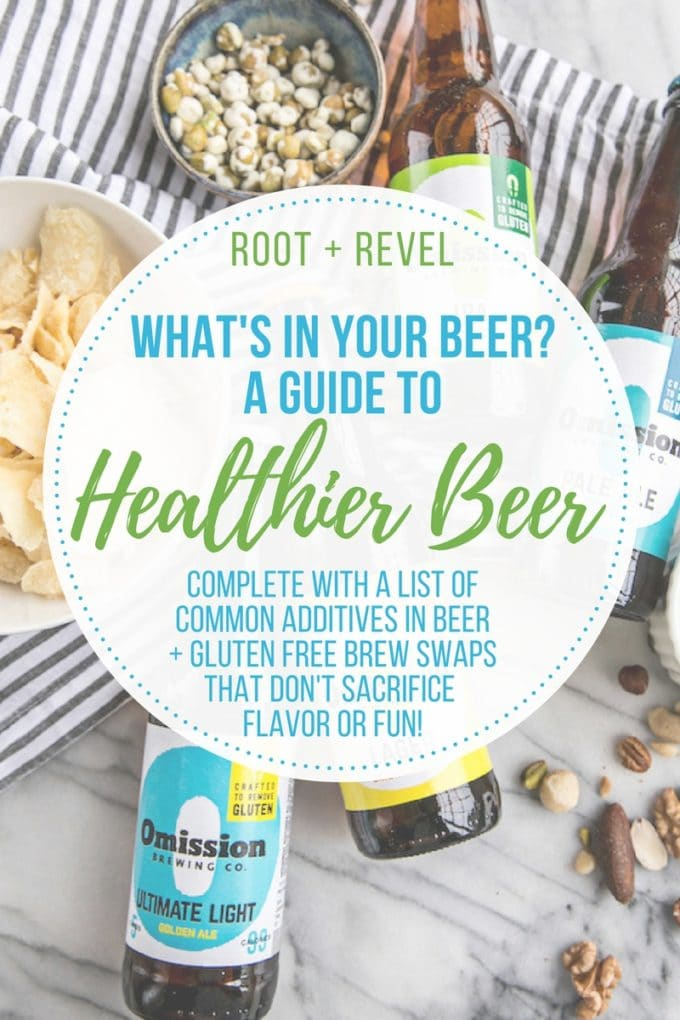 Do you know what's really in your beer? Common additives are carcinogenic, can cause weight gain, diabetes, kidney damage, digestion problems, allergies, migraines and more. No fear! This guide to healthier beer shows you how to have your brew and drink it too! Gluten free beers with just four ingredients are better for you, without sacrificing flavor or fun.