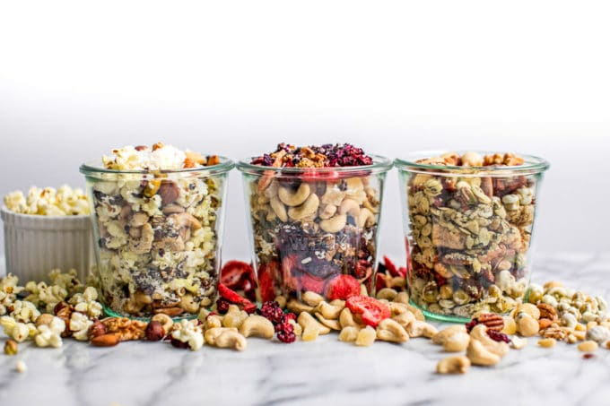 Healthy Homemade Trail Mixes