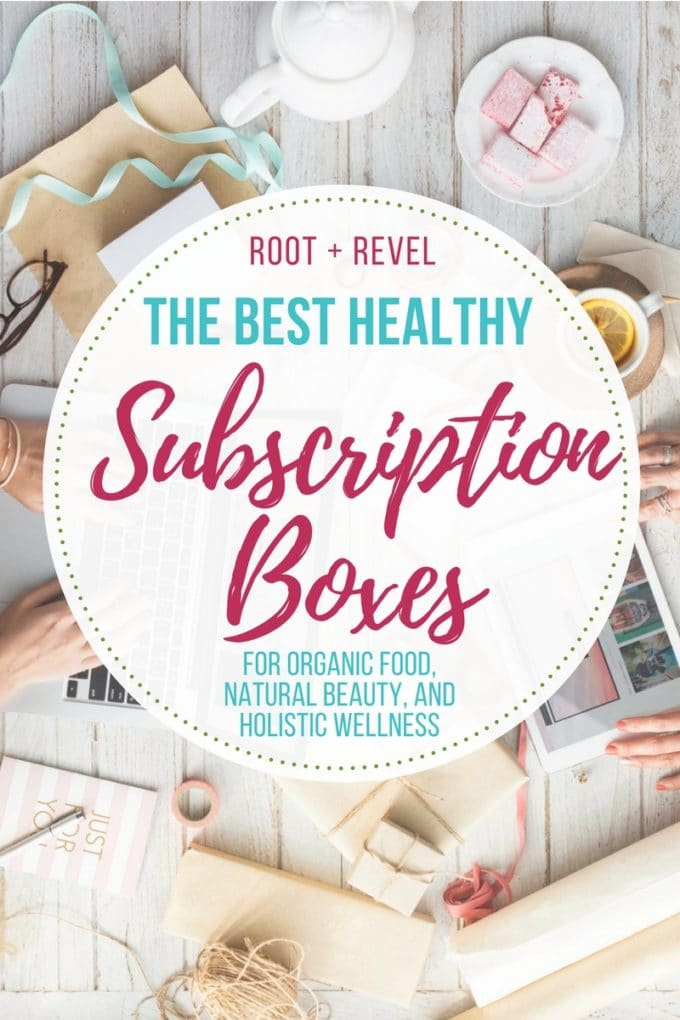 Monthly subscription boxes are a convenient, helpful, affordable and fun way to discover new products and keep your look, your closet, and your pantry fresh, all while getting to skip the hassle of shopping! Whatever your needs--grass-fed meat delivery? Non-toxic beauty products? Women's hormonal support? Meal kit delivery? Superfood Smoothies?--this roundup of the best monthly subscription boxes has you covered! Even better--they're all healthy!