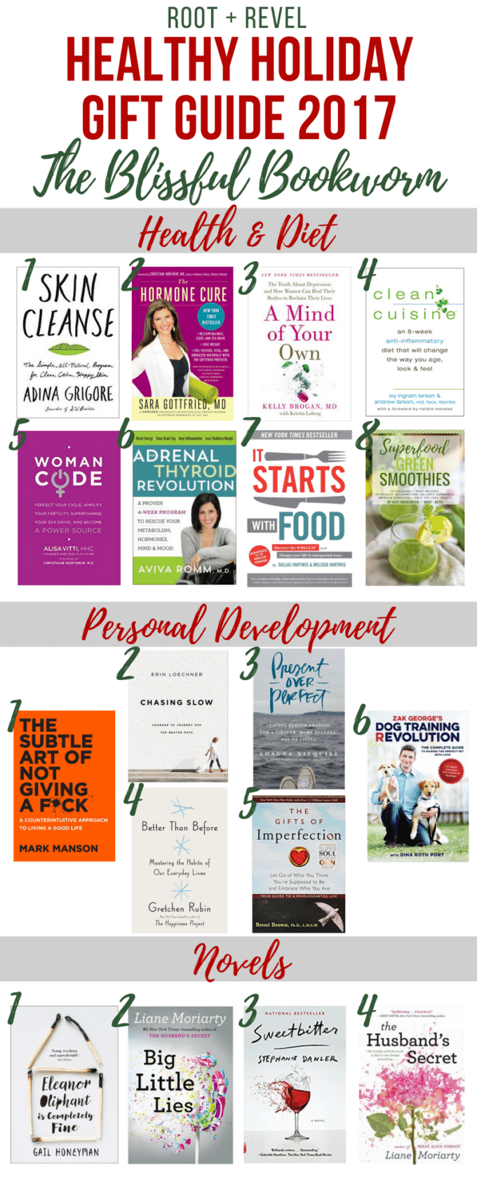 Stumped what to get your friends and family this holiday season? We've put together a comprehensive holiday gift giving guide rooted in healthy, eco-conscious and sustainable living that will inspire the perfect gift for anyone in your life: the conscientious cook, the domestic dame, the green goddess, the tree hugging techie or the blissful bookworm!