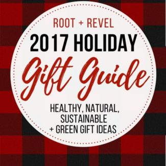 Stumped what to get your friends and family this holiday season? We've put together a comprehensive healthy holiday gift guide chockfull of ideas for non-toxic, sustainable and green gift ideas perfect for everyone in your life: the conscientious cook, the domestic dame, the green goddess, the tree hugging techie and the blissful bookworm!