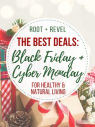 The Best Online Black Friday Deals for Healthy + Natural Living