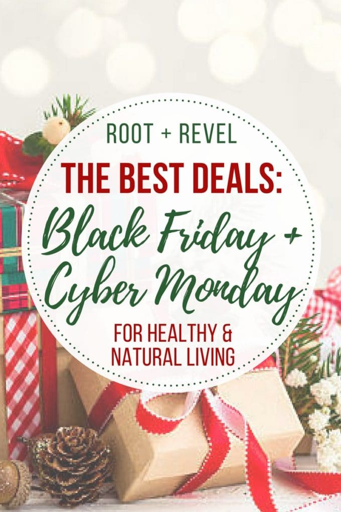 We've rounded up our favorite online Black Friday deals for healthy and natural living so you can plan ahead and save some serious money!! From natural beauty buys to grass-fed meat subscriptions, organic mattresses to high-speed blenders and whole house water filters, we've got all your bases covered, whether you're looking for a healthy holiday gift or treating yourself!