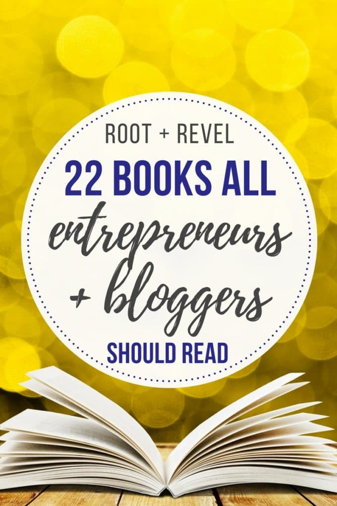 Whether you want to start your own company or side hustle, become a full-time freelancer or blogger, create a part-time extra revenue stream, found a charitable business or anything in between, this collection of the 22 best books for entrepreneurs and bloggers will give you a prime education and practical roadmap, all while getting your creative juices flowing!