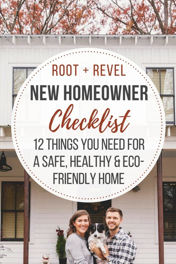New homeowner checklist 12 things you need for a safe for Things you need for a home