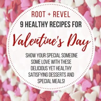 This February 14th, show your special someone some love with these delicious and healthy Valentine's Day recipes! This collection proves that you don't need to go overboard with sugary treats and yet can still enjoy perfectly satisfying desserts and special meals with your family or valentine.