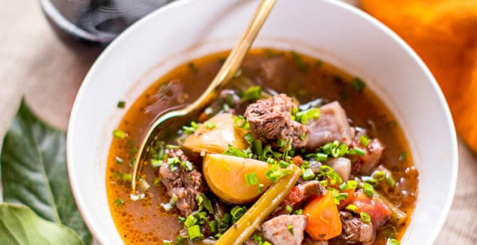 Keto Beef Stew in the Instant Pot or Slow Cooker