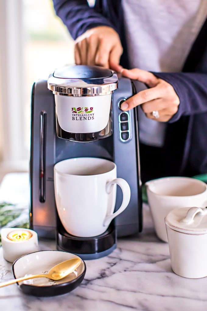 Intelligent Blends single serving coffee maker: Best kitchen appliances and coffee makers