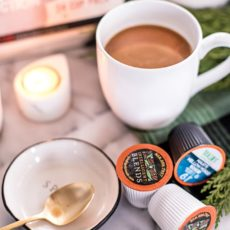 I get it--single serve coffee is easy and convenient. But it can also be extremely wasteful and bad for the environment. Not anymore! Thanks to this sustainable single serve coffee maker and their recyclable coffee pods you can now make one cup of coffee at a time AND have it be organic, Fair Trade Certified and Sustainable. Did I mention this coffee is pretty cheap, too? And their eco-friendly pods work in Keurig machines, too. Read on for the scoop!