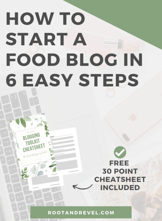 How to Start a Food Blog in 6 Easy Steps: This quickstart blogging for beginners guide will teach you how to start a blog from scratch and make money with WordPress. Step-by-step instructions for 2019 full of ideas and inspiration for aspiring bloggers in all genres.