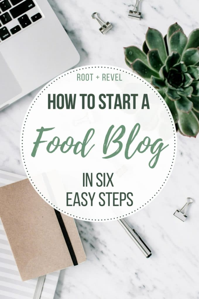 How to Start a Food Blog in 6 Easy Steps: This quickstart blogging for beginners guide will teach you how to start a blog and make money with WordPress. Step-by-step instructions for 2018 full of ideas and inspiration for aspiring lifestyle bloggers.