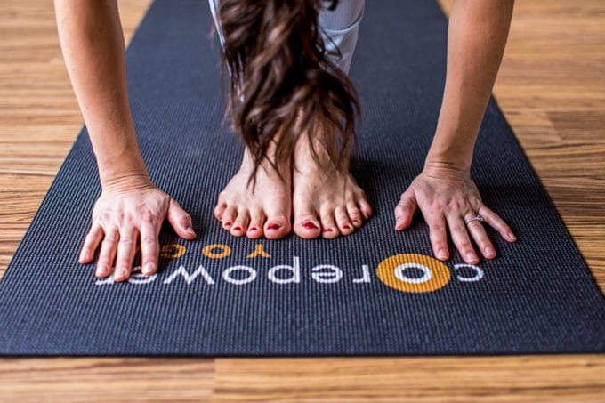 Need some Yoga Inspiration? Here are 5 Ways Yoga Changed My Life (And Could Change Yours, Too!). From mind, body and spirit yoga is great for weightloss, anxiety/depression, thyroid, hormone balance, digestion and more. See why I'm addicted to CorePower Yoga's classes here.