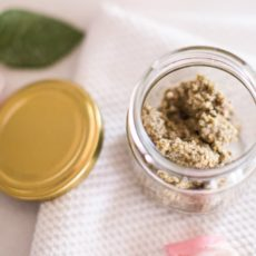 Looking for a natural way to exfoliate your skin? This DIY face scrub is easy to make, affordable and super effective.