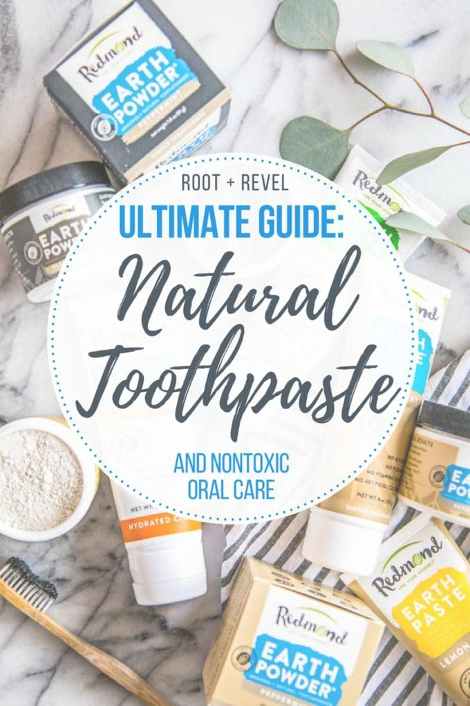 Are you looking for a natural toothpaste for your family? You likely want to find one without fluoride or abrasive baking soda, one that's made with non-toxic, organic ingredients like Bentonite clay or charcoal to help with whitening. Look no further--in this Savvy Swaps we're showing you the best natural toothpaste and oral health products on the market (personally tried and tested!).