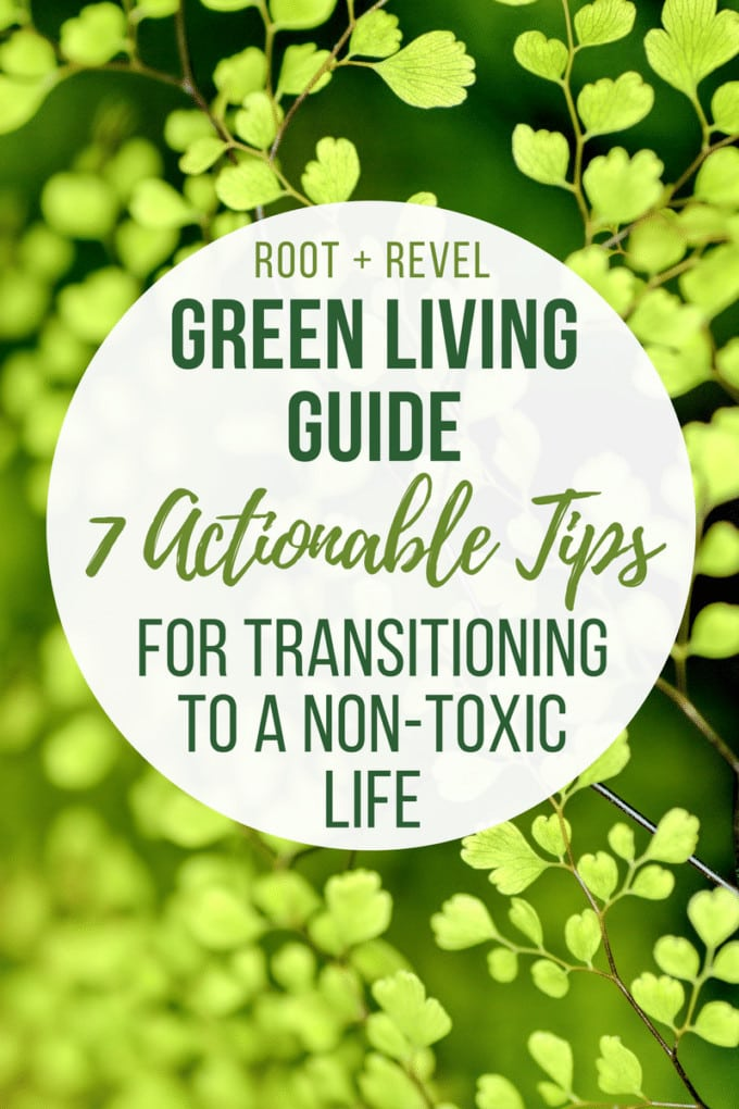 Want to move towards green living but don't know where to start? This approachable Guide to Green Living shares seven steps for transitioning to a non-toxic life based on the book Green Enough by Leah Segedie. The best part is that you don't have to be perfect; being mindful, proactive and making small changes at a time ensures that you can take charge of your family's health and home environment, ultimately creating a cleaner, greener and healthier life.