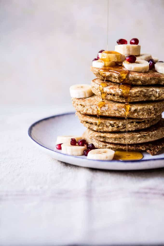 Mother's Day Recipes: Healthy Chai Banana Pancakes