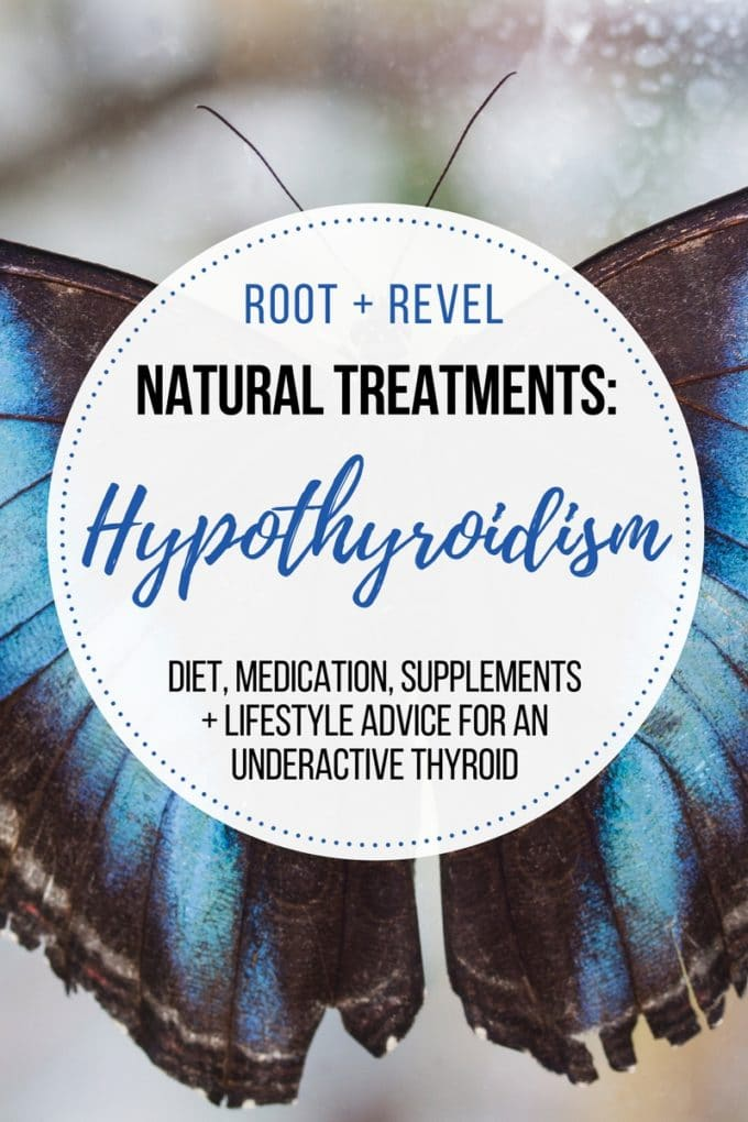 Looking for natural treatments and medications for hypothyroidism? If you suffer from anxiety, fatigue, constipation + weight gain, you may have an underactive thyroid. Take our free quiz to see if you have hypothyroidism. This post is full of advice for hypothyroidism diet, medications and supplements, and lifestyle advice to treat hypothyroidism naturally!
