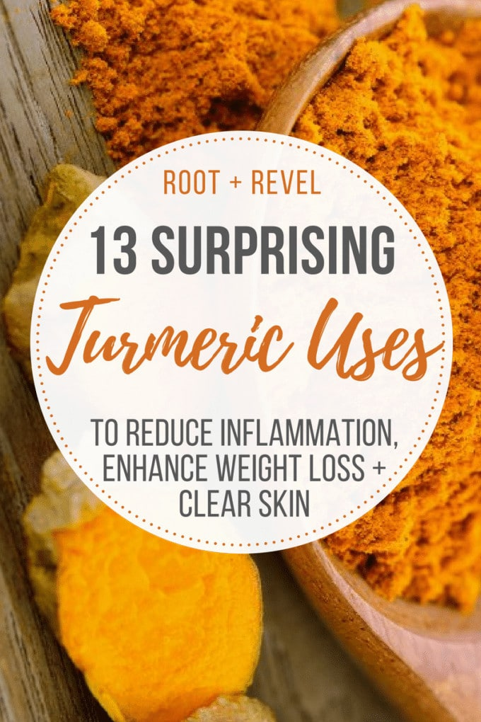 Turmeric, one of the best anti-inflammatory foods and supplements, isn't just for adding flavor to curries and teas. I've called in myfriend Andrea Donsky, founder of the natural and organic living site NaturallySavvy.com, to share 13 surprising turmeric uses that you can integrate into your diet and lifestyle today.