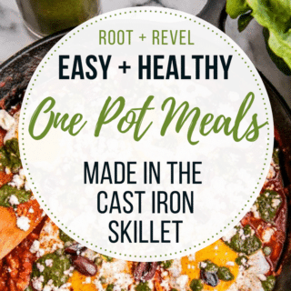 Healthy Cast Iron Skillet One Pot Meals