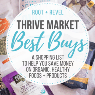 Thrive Market Review + Shopping List