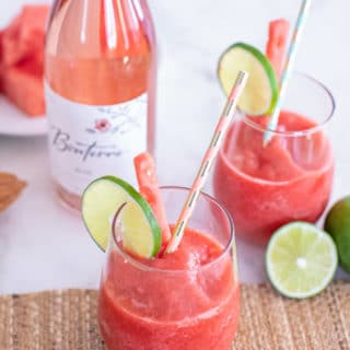 Superfood Frose Recipe (Frozen Rosé Wine Slushy)